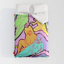 DYSTOPIAN HAREM Comforters