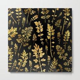 parsley of gold Metal Print