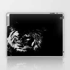 Lion Stencilled Laptop & iPad Skin