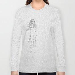 Lady in Wait Long Sleeve T-shirt