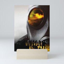 Smoke wallpaper Mini Art Print
