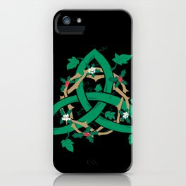 The Holly And The Ivy iPhone Case