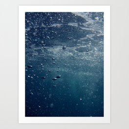 UNDERWATER I. Art Print