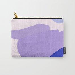 Lluvia Violeta Carry-All Pouch