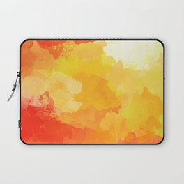 Colorful Abstract - red orange pattern Laptop Sleeve