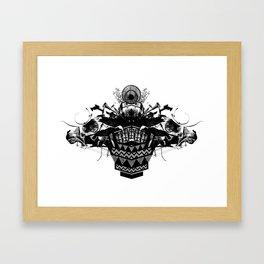 HORSEHEAD CREST Framed Art Print