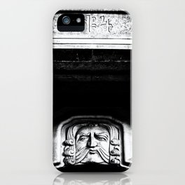 Disapproving Scowl iPhone Case