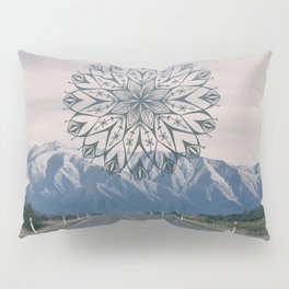 Road to the Mountain Pillow Sham