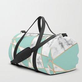 Marble Geometry 055 Duffle Bag