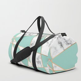 Marble Geometry 055 Duffle Bag