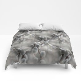 flowers -8- seamless pattern Comforters