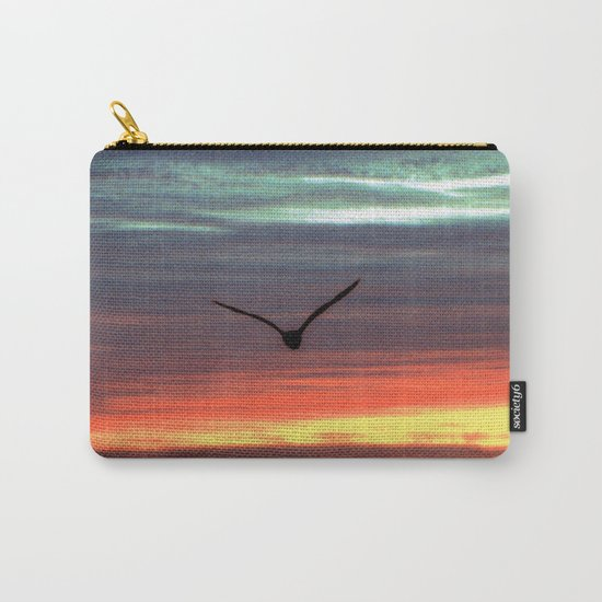 Black Gull by nite Carry-All Pouch