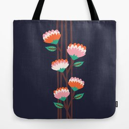 Benoít Flowers Tote Bag