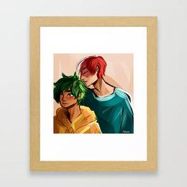 Tododeku Framed Art Print