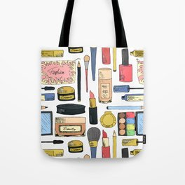 Cosmetic pattern Tote Bag