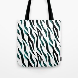 Here Kitty Kitty - Teal Tote Bag
