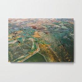 Treasure Valley Aerial Metal Print
