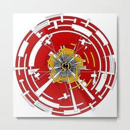 Circular Staircase #1 Metal Print
