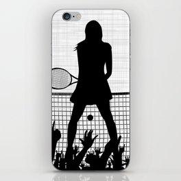 Tennis Ace iPhone Skin