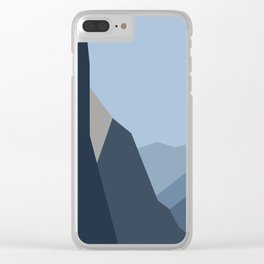 Yosemite Tunnel View (2) Clear iPhone Case
