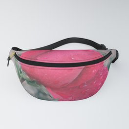Raindrops on a Rose Fanny Pack