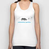 evolution Tank Tops featuring Evolution by Tony Vazquez