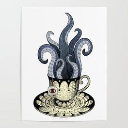 Kraken tea Poster