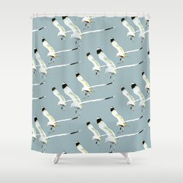 Seagull clones Shower Curtain