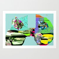 f1 Art Prints featuring F1 by Daily Rorschach