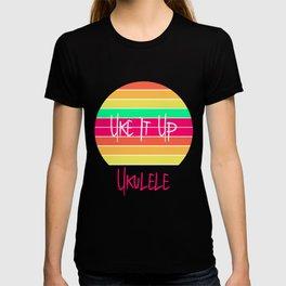 Ukulele Uke It Up Hawaii Sunshine Ukelele T-shirt