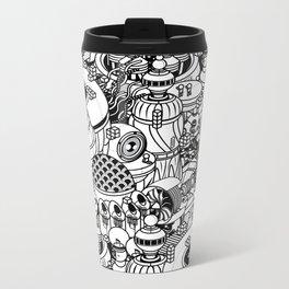 Dark Matter Space Machine Metal Travel Mug