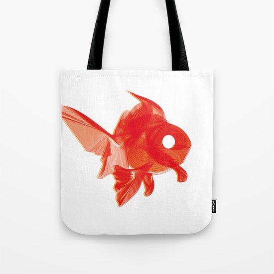 Moirè Goldfish Tote Bag