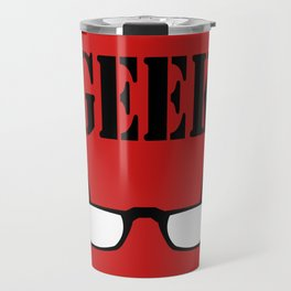 Geek Glasses Travel Mug