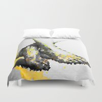 feet Duvet Covers featuring Crystal Feet by Latidra Washington