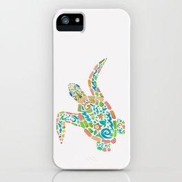 Surf Turtle iPhone Case