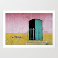Colorful Entrance Art Print