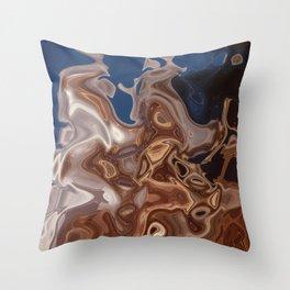 feedback & distortion 3 Throw Pillow