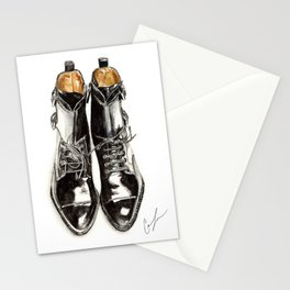 Black Boots Stationery Cards