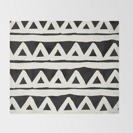 Tribal Chevron Stripes Throw Blanket