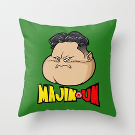 A Powerful Foe Throw Pillow