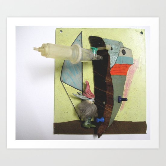 the sailor Art Print
