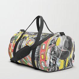 come-on  bitch.. Duffle Bag