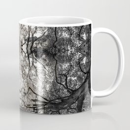 Forest Goddess in the Branches of an Ancient Oak Coffee Mug