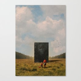 Son, this is the Universe Canvas Print