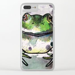 Frog 2 Clear iPhone Case