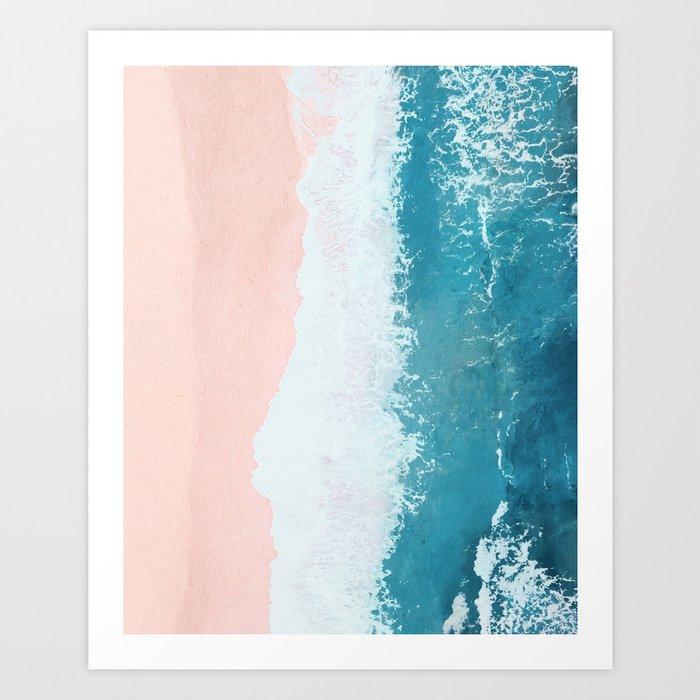 just beachy Kunstdrucke