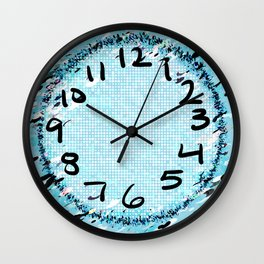 Ice Clock Wall Clock