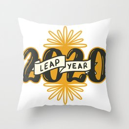 2020 Year Quote Throw Pillow
