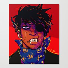 Spook Woof 2 Canvas Print