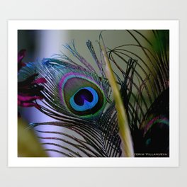 """Feather"" 2012 Art Print"